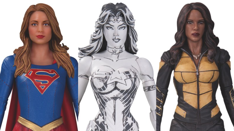 Illustration for article titled DC's New Action Figures Include a Triumvirate of Awesome Female Superheroes