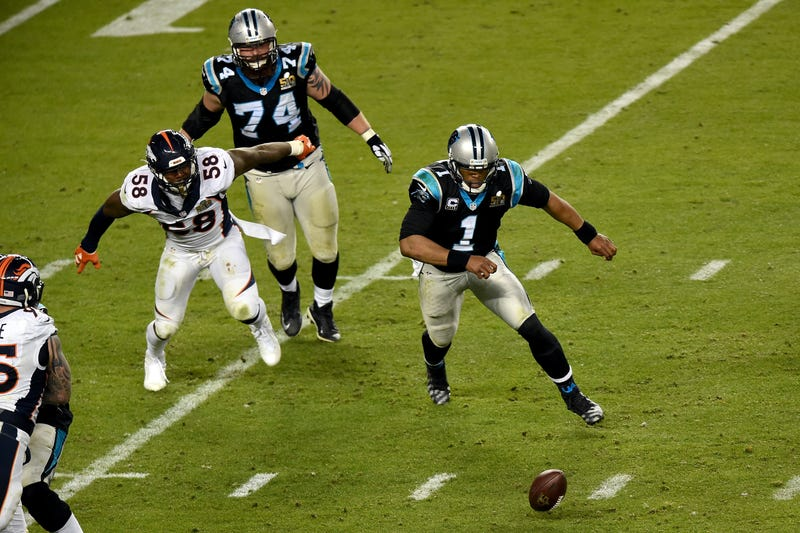 Illustration for article titled Ron Rivera Has Cam Newton's Back On That Loose Ball
