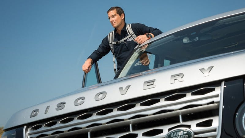 Illustration for article titled 'Survival Television' Star Bear Grylls Works For Land Rover Now