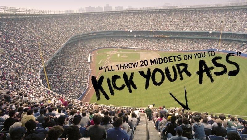 Illustration for article titled When Yankee Stadium's Bleacher Creatures Were Wild