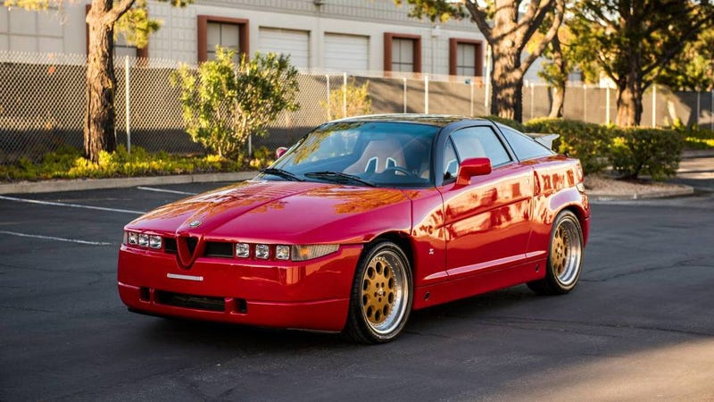 Illustration for article titled Buy This Alfa Romeo SZ Before It Hurts Somebody