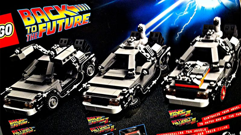Illustration for article titled Here's the New Lego Back to the Future Set