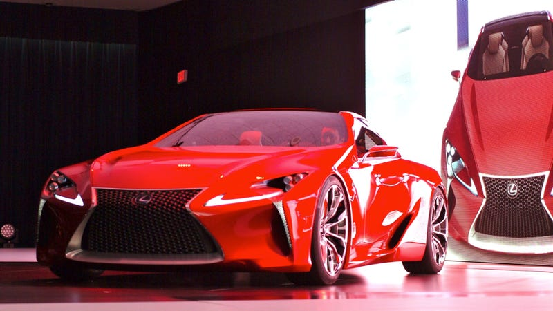 Illustration for article titled Sadly, Lexus Will Never Build The LF-Lc Concept