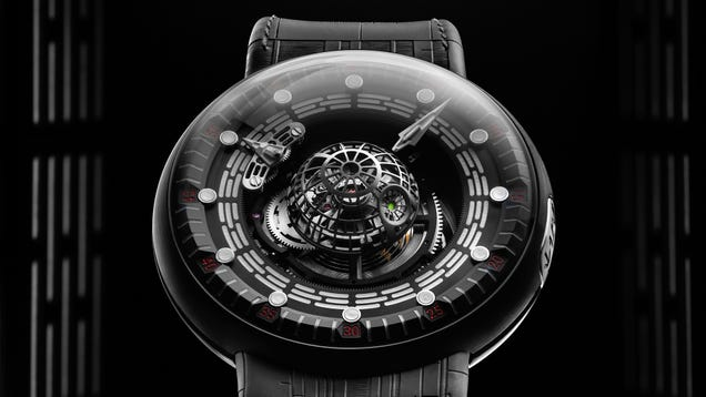 You ll Need the Galactic Empire s Budget to Afford This Mechanical Star Wars Death Star Watch