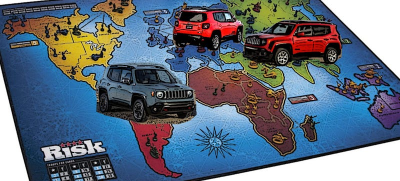 Illustration for article titled 2015 Jeep Renegade Gearing Up For World Conquest With Three Plants?