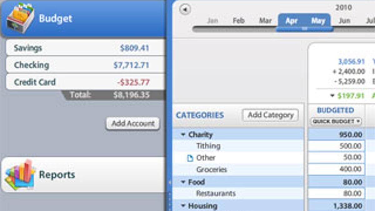 how to set up and streamline a shared budget
