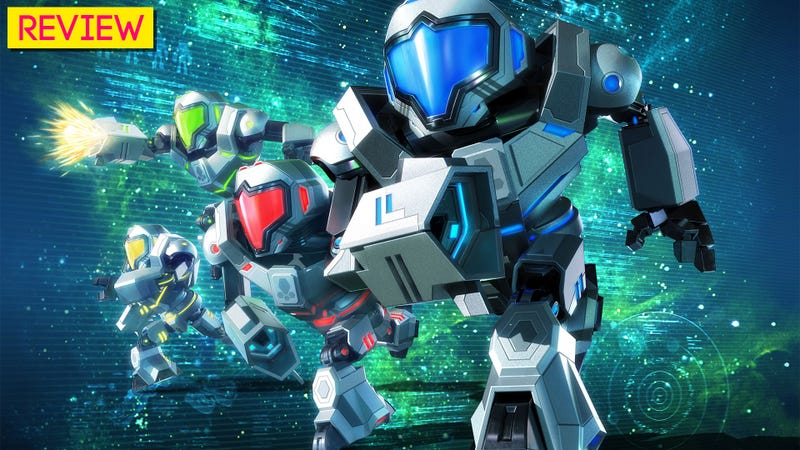 Illustration for article titled Metroid Prime: Federation Force: The Kotaku Review