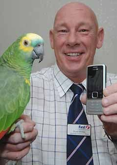 Illustration for article titled Parrot Mimics Ringtone to Torture His Owner