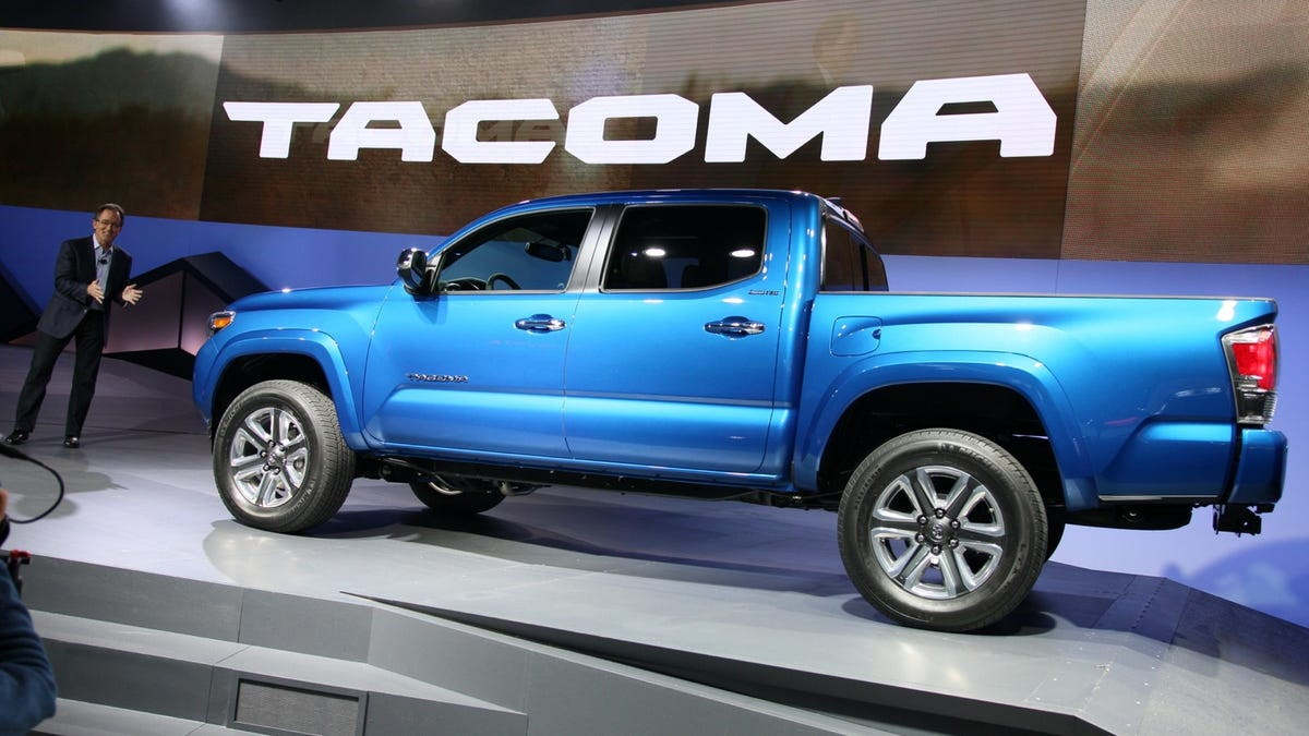 Toyota Tacoma V8 >> The 2016 Toyota Tacoma Will Have An Actual Engine