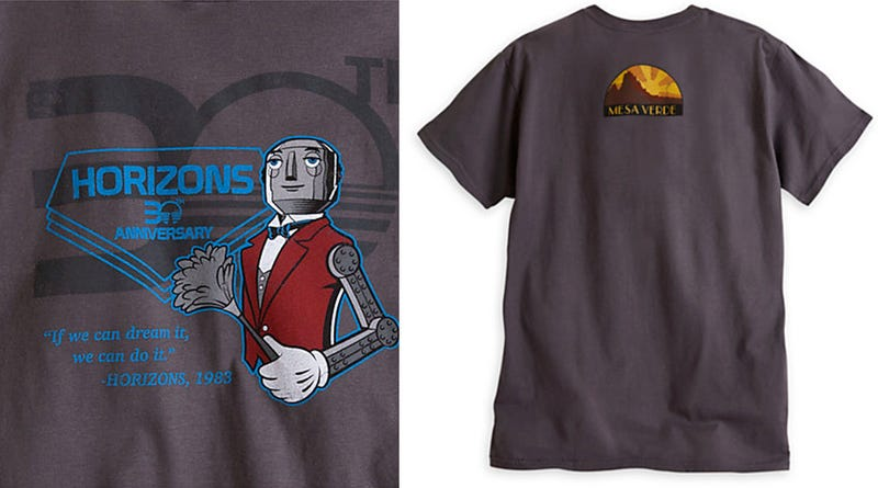 Illustration for article titled Disney Selling Limited Edition Horizons T-Shirts -- For 5 Days Only