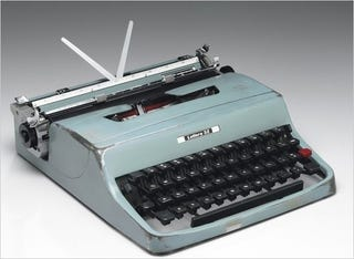 Illustration for article titled Every Single One of Cormac McCarthy's Works Was Typed on This