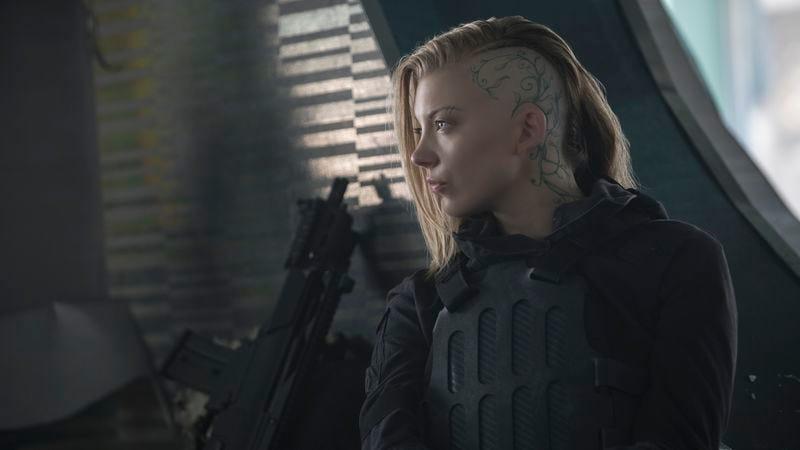 Dormer as Cressida in The Hunger Games: Mockingjay—Part 2