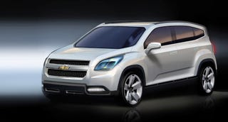 Illustration for article titled Chevy Orlando Concept Unveiled Ahead Of Paris Motor Show