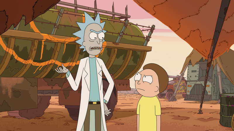 dan harmon wants to take another shot at a 14 episode rick and morty