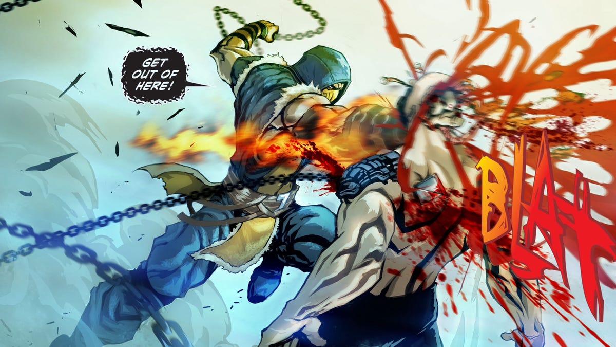 The New Mortal Kombat Comic Isn't Even Bad in a Good Way