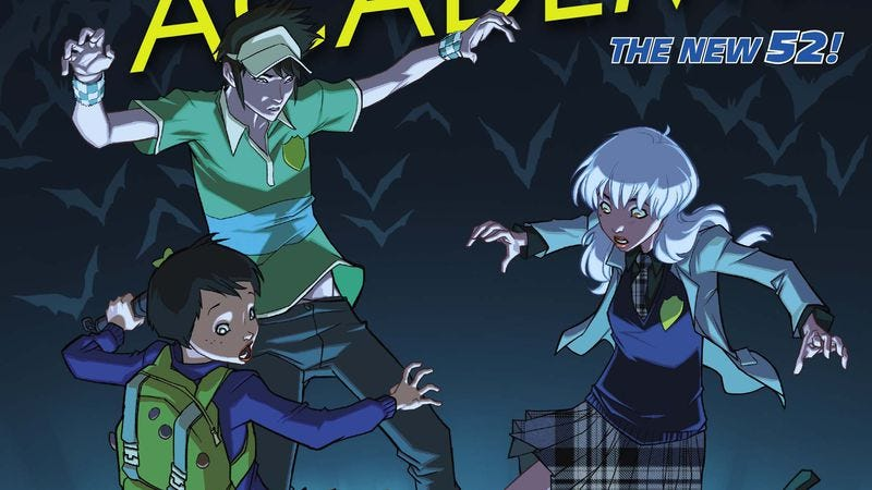 Illustration for article titled Exclusive DC preview: Gotham Academy #4 delivers all-ages mystery and romance