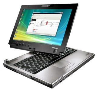 Illustration for article titled Toshiba's Portégé M780 Convertible Laptop Has A Multitouch Screen For Windows 7 Gestures