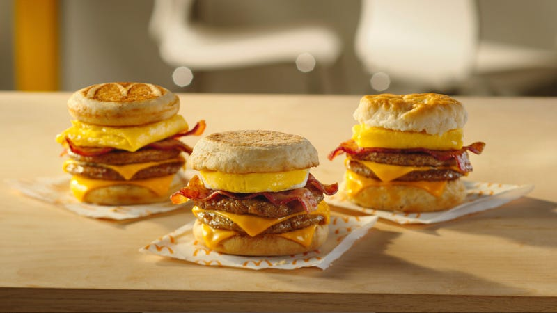 Illustration for article titled McDonald's announces new monster-sized breakfast sandwich/hangover cure