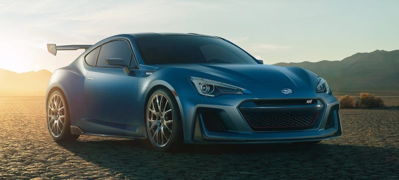 Illustration for article titled Damn Even Subaru's American Boss Thinks The BRZ Needs 'More Performance'