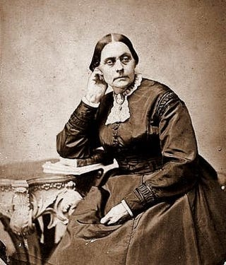 Susan B. Anthony at age 50Wikimedia Commons