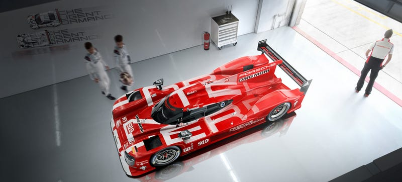 Ilration For Article Led The Porsche 919 Now Comes In Right Color Must