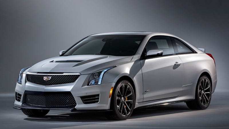 Illustration for article titled 2016 Cadillac ATS-V: This Is All Of It