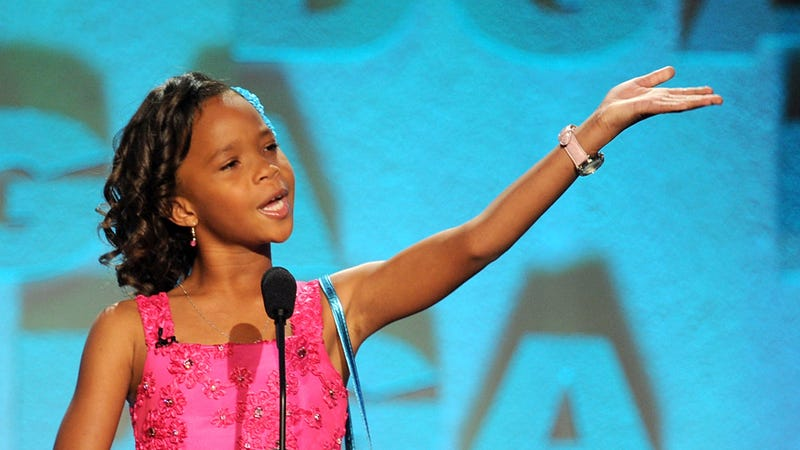 Illustration for article titled Quvenzhané Wallis Adorably Teaches Us How to Pronounce Her Name