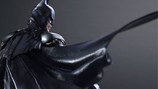 Illustration for article titled Closer Look At Play Arts Kai's New Batman Reveals The Swishiest Bat-Cape