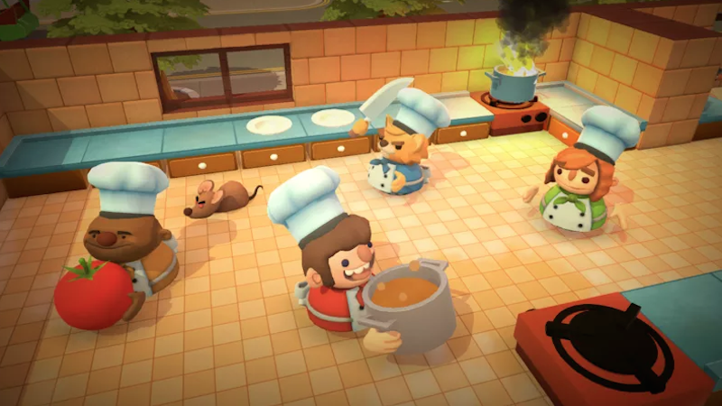 Illustration for article titled Playing Overcooked Can Tear People Apart And, Thankfully, Bring Them Together