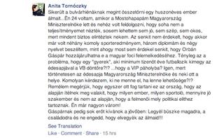 Illustration for article titled Medgyessy nevelt lánya Orbán fia védelmére kelt