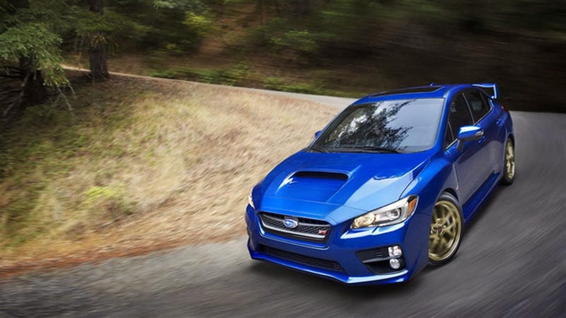 Illustration for article titled 2015 Subaru WRX STI: This Is It