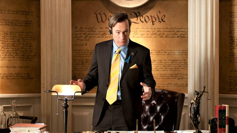 Saul Goodman, master of paltering. Image via AMC.
