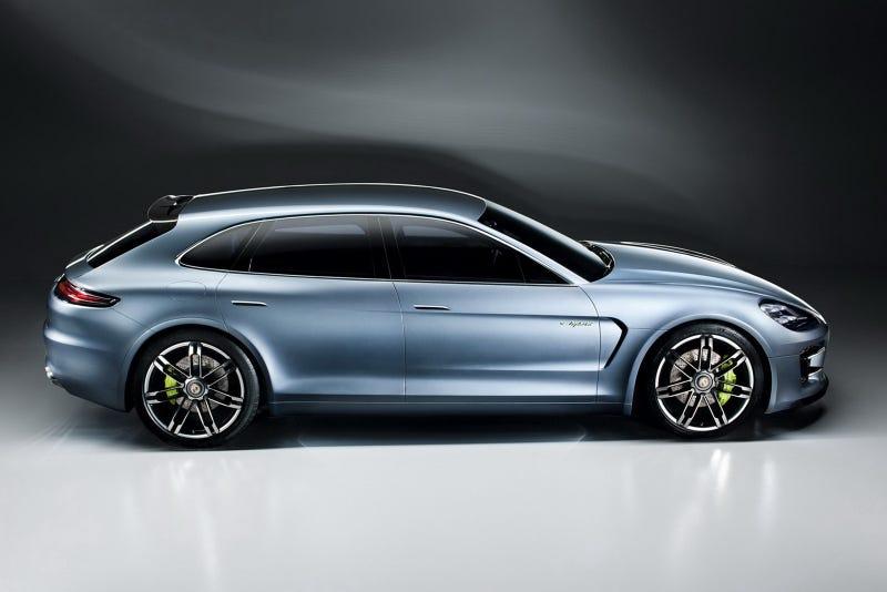 Illustration for article titled Porsche Panamera Sport Turismo Concept: Yes, It's A Porsche Wagon