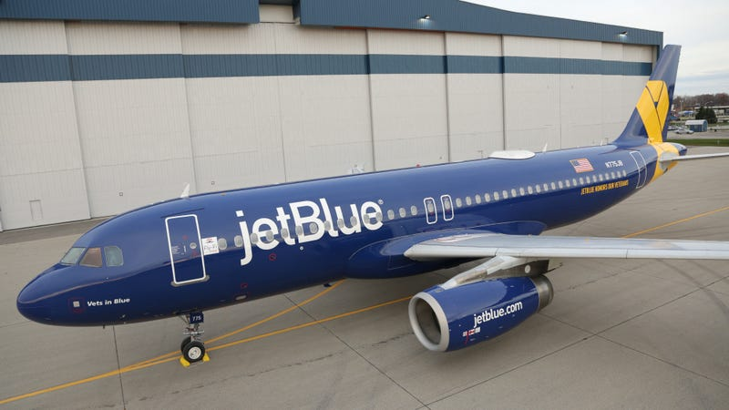 Illustration for article titled JetBlue Dedicates Special Livery To Armed Forces Veterans