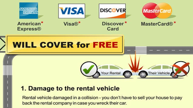 Car Rental Insurance Covered By Credit Cards