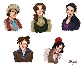 Illustration for article titled My own cautious take on the possibility of a female Doctor on Doctor Who.