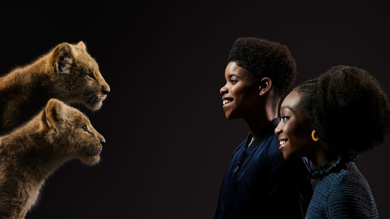 New Lion King Cast Photos Show Stars And Animals