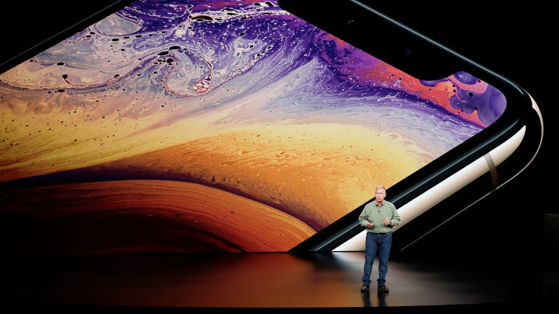 El VP de Apple Phil Schiller durante la presentación del iPhone Xs