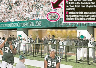Illustration for article titled The $400,000 New York Jets Tickets