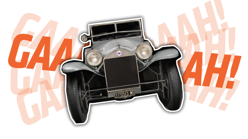 Illustration for article titled Human Science Developed The Most Surprised-Looking Car Ever Back In 1922