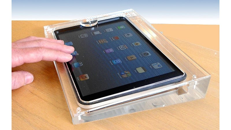 Illustration for article titled Grace Your iPad Mini With the Sterile Charm of an Apple Store Display