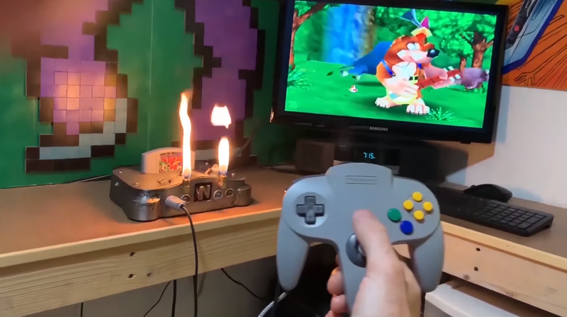 Illustration for article titled Finally, A Nintendo 64 That Can Breathe Fire