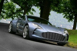 The Brits Have Announced The Aston Martin One 77s 7 3 Liter V12 Has Been Certified At 750 Hp And 553 2 Lb Ft Of Torque Which They Claim Makes It The Most
