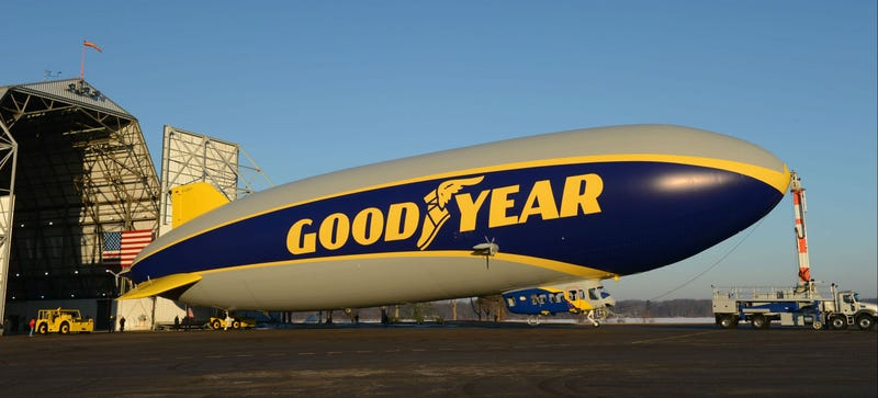 Illustration for article titled Goodyear's Newest Blimp Isn't Actually a Blimp