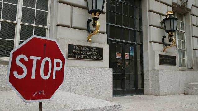 The EPA Is Doing Its Job Again