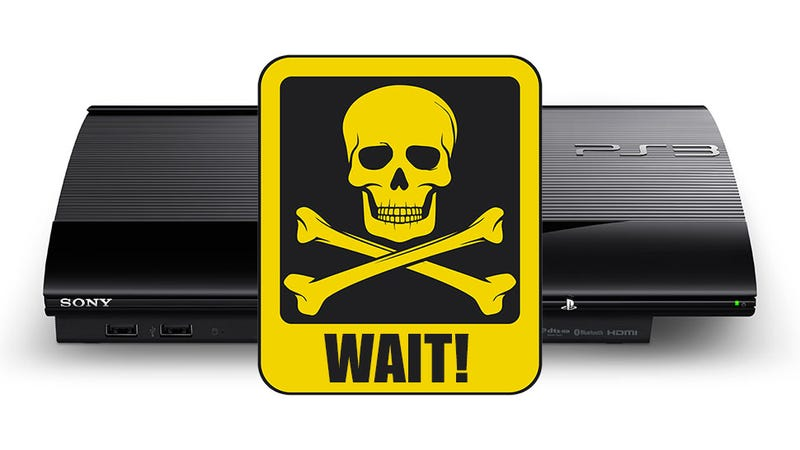 Illustration for article titled Don't Update Your PS3 Today! [Update: Firmware Pulled]