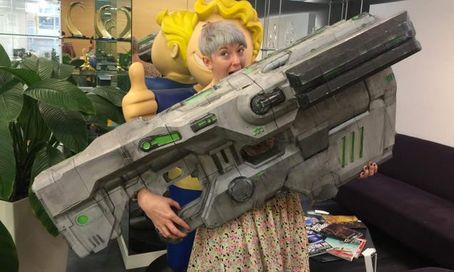 A Real-Life Version of Doom s BFG Reveals Just How Gigantic It Really Is