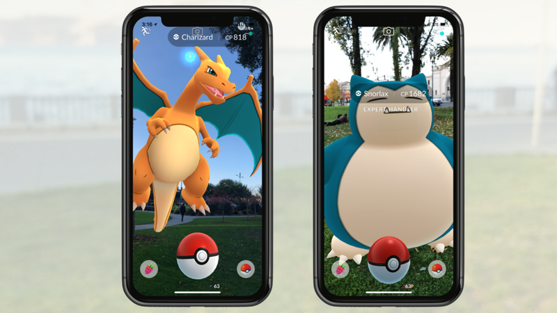 Pokemon Go Receives iPhone-Exclusive AR+ Features Today