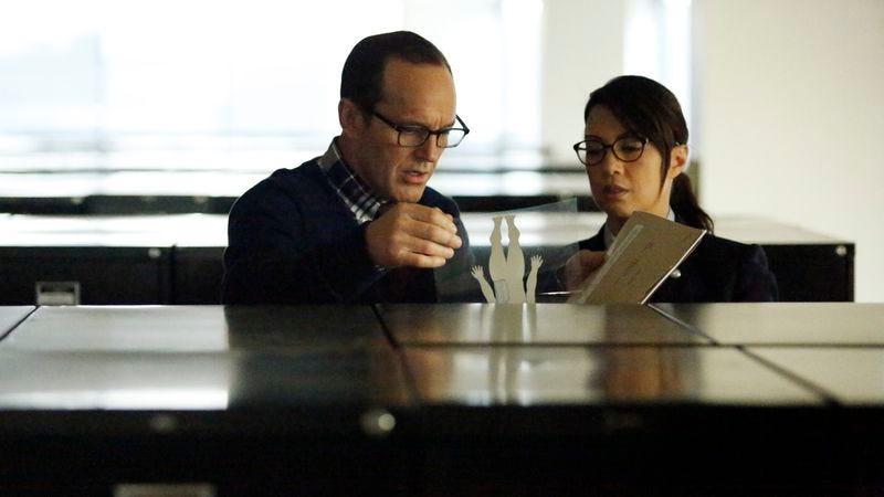 Clark Gregg, Ming-Na Wen (ABC)