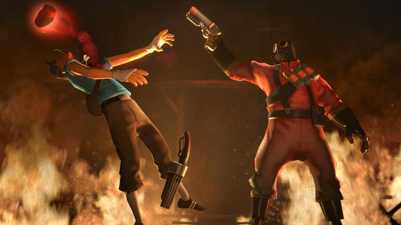 Illustration for article titled Team Fortress 2's Pyromania Heats Up with New Weapons and a City on Fire